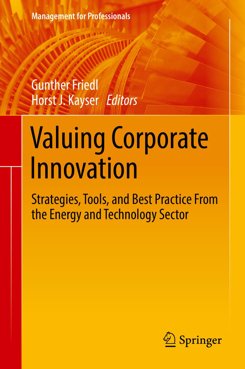 Friedl, Gunther - Valuing Corporate Innovation, ebook