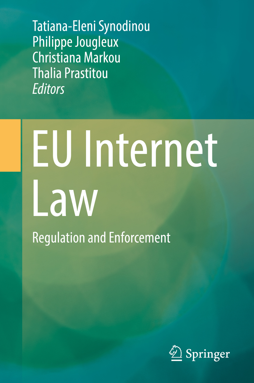 Jougleux, Philippe - EU Internet Law, ebook