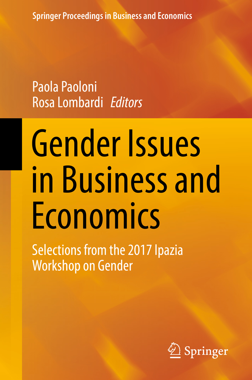 Lombardi, Rosa - Gender Issues in Business and Economics, ebook