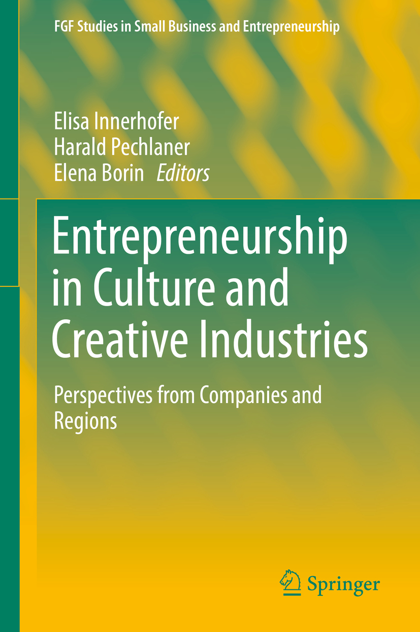 Borin, Elena - Entrepreneurship in Culture and Creative Industries, ebook