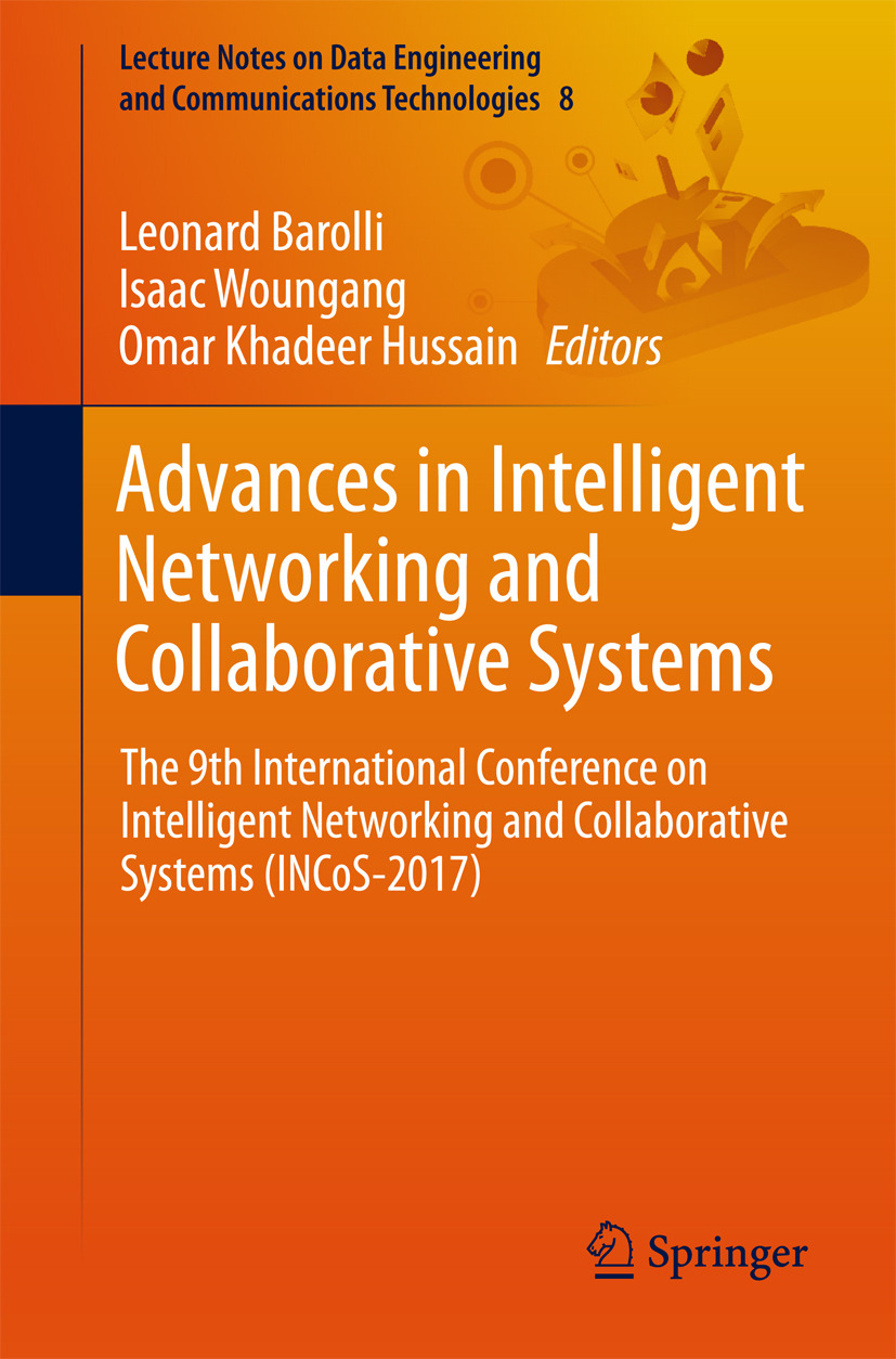 Barolli, Leonard - Advances in Intelligent Networking and Collaborative Systems, ebook