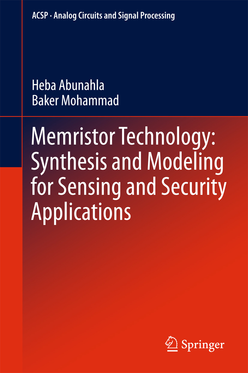 Abunahla, Heba - Memristor Technology: Synthesis and Modeling for Sensing and Security Applications, ebook