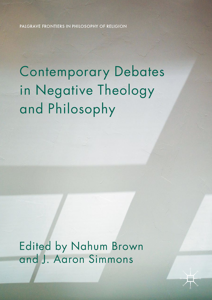 Brown, Nahum - Contemporary Debates in Negative Theology and Philosophy, ebook