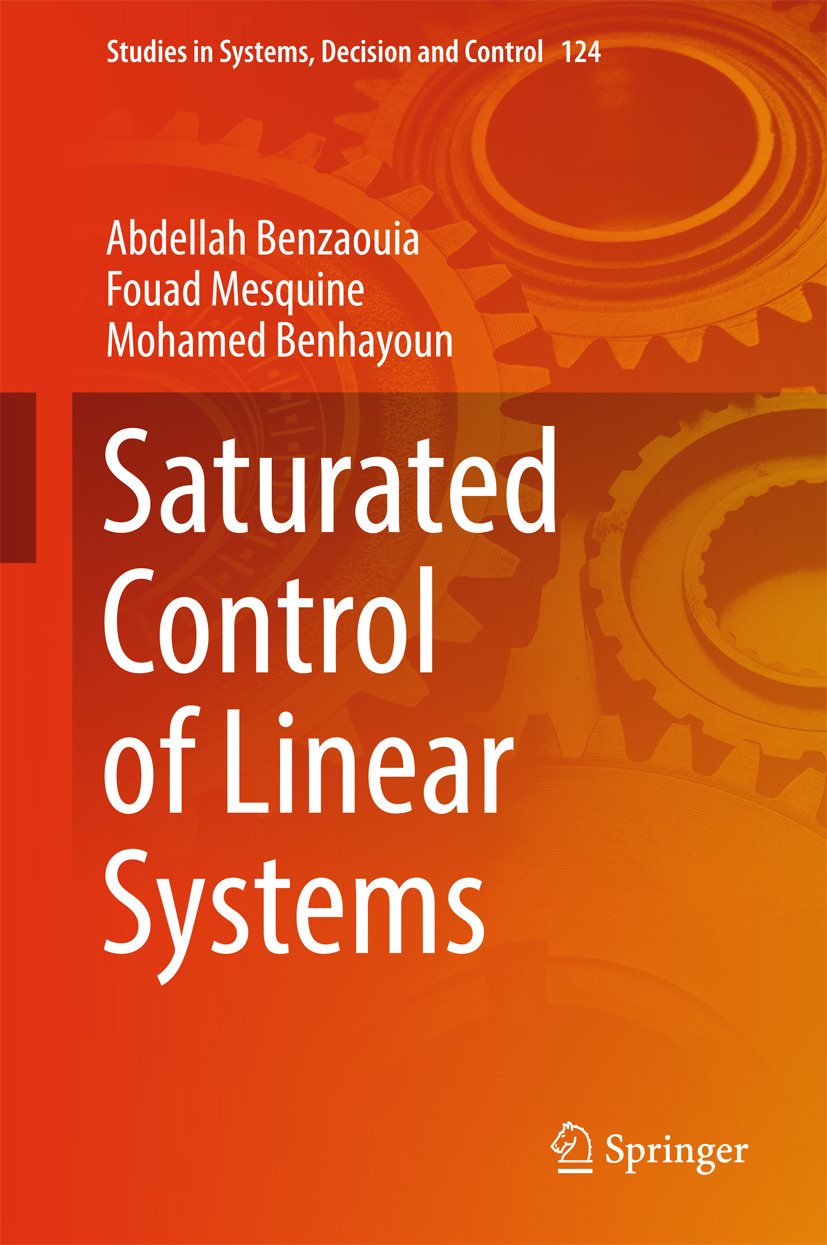 Benhayoun, Mohamed - Saturated Control of Linear Systems, ebook