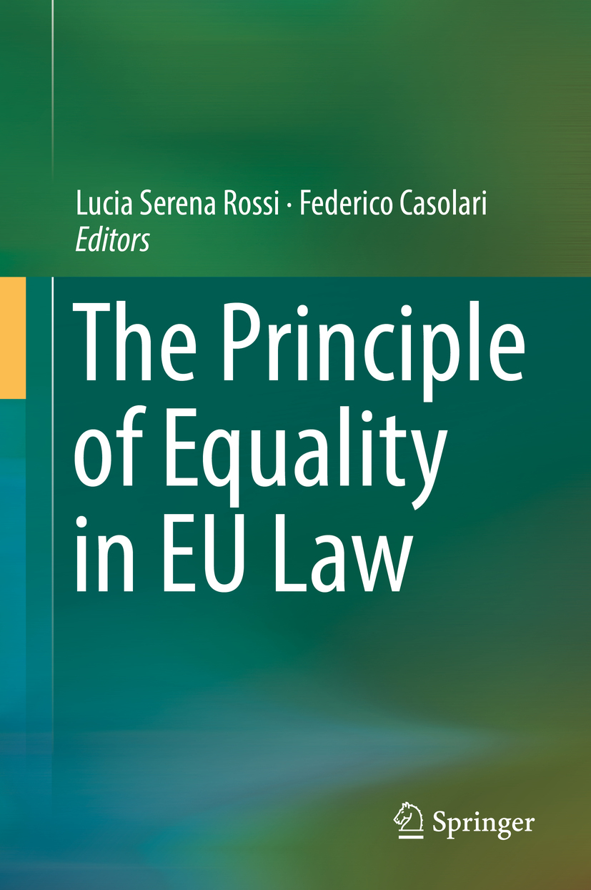 Casolari, Federico - The Principle of Equality in EU Law, ebook