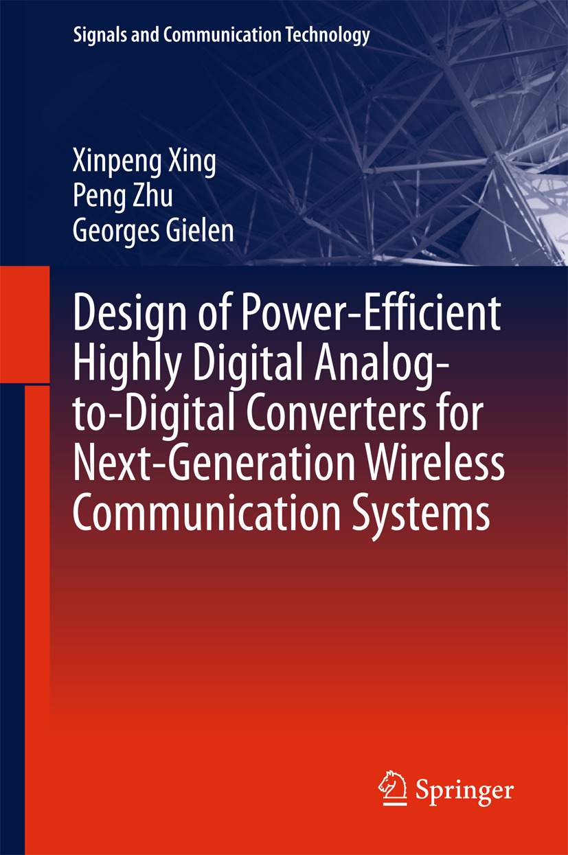 Gielen, Georges - Design of Power-Efficient Highly Digital Analog-to-Digital Converters for Next-Generation Wireless Communication Systems, ebook