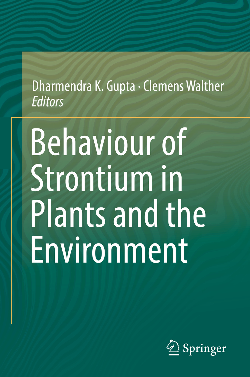 , Clemens  Walther - Behaviour of Strontium in Plants and the Environment, ebook