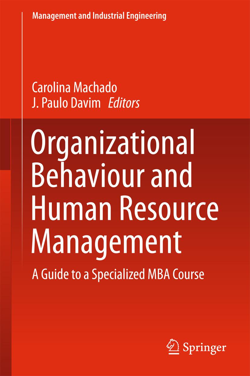Davim, J. Paulo - Organizational Behaviour and Human Resource Management, ebook