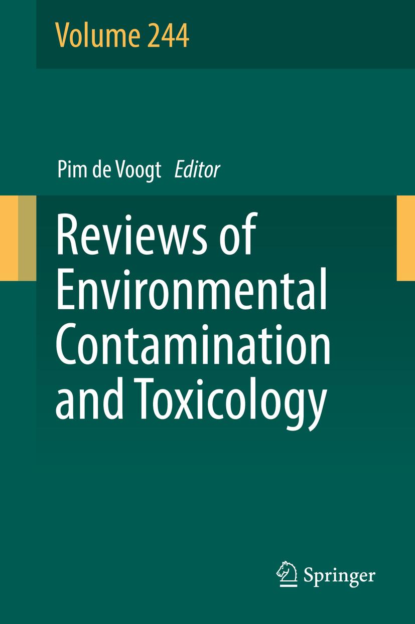 Voogt, Pim de - Reviews of Environmental Contamination and Toxicology Volume 244, ebook