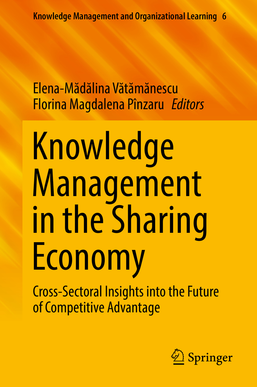 Pînzaru, Florina Magdalena - Knowledge Management in the Sharing Economy, ebook