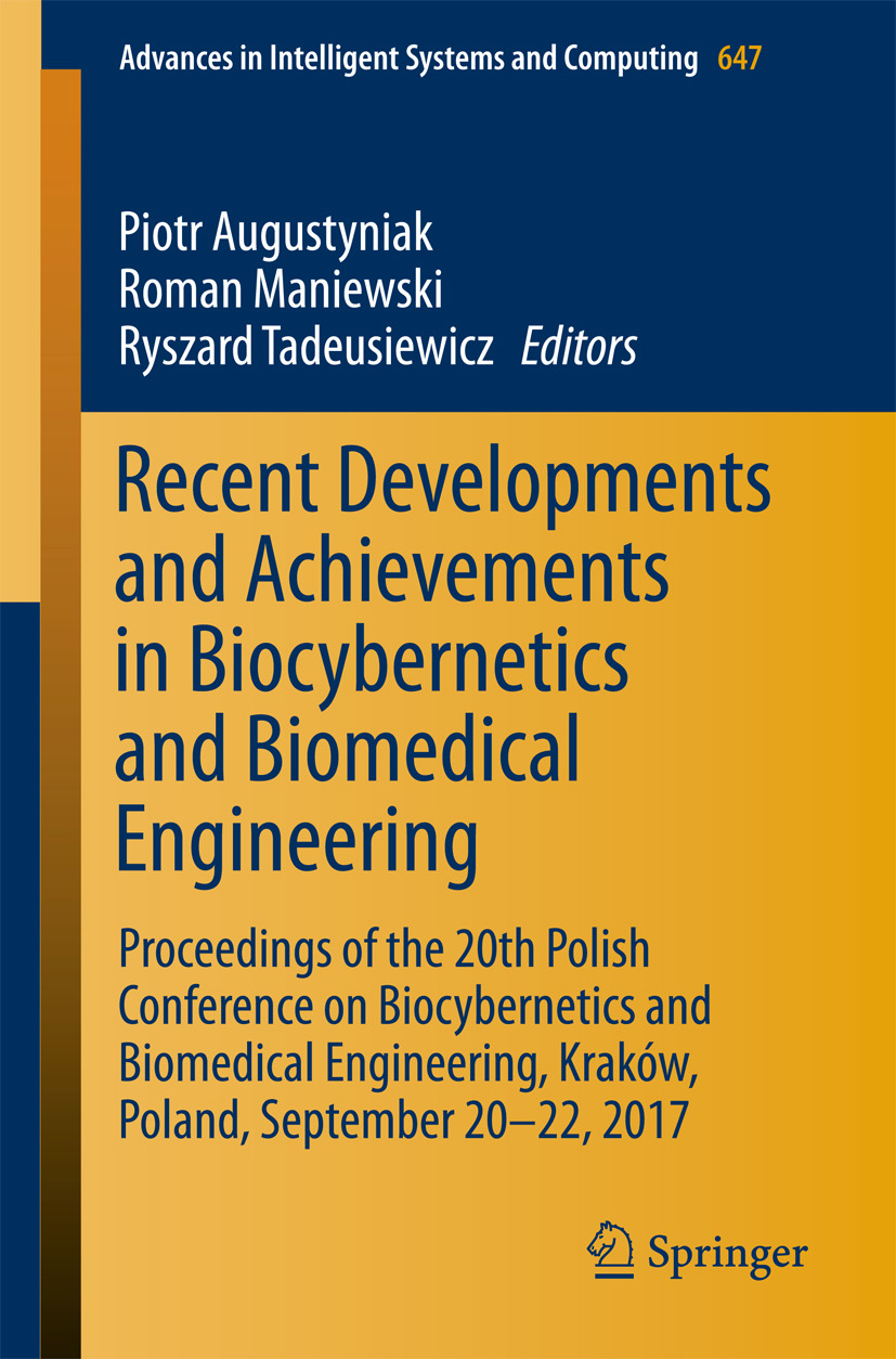 Augustyniak, Piotr - Recent Developments and Achievements in Biocybernetics and Biomedical Engineering, ebook