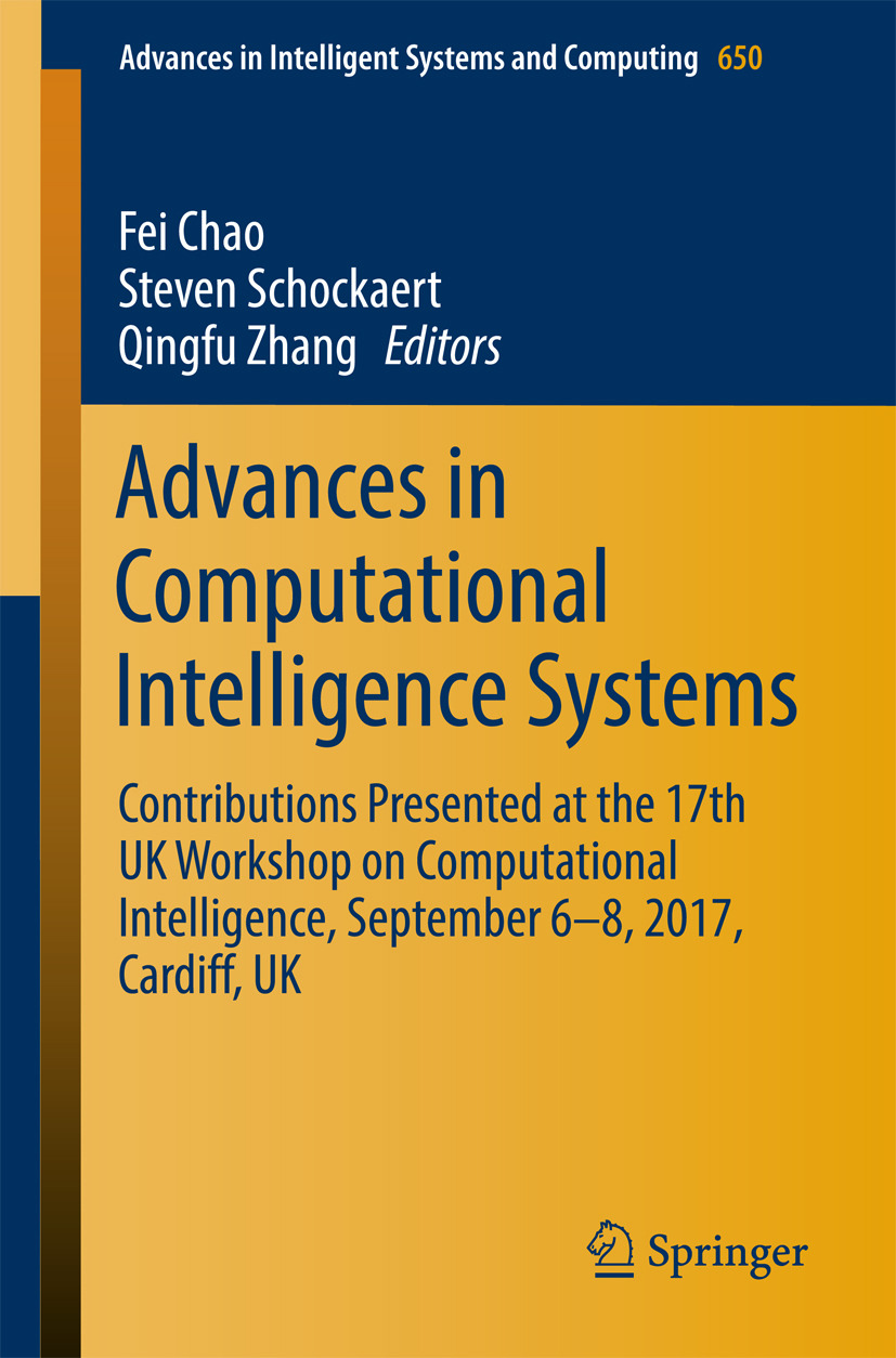 Chao, Fei - Advances in Computational Intelligence Systems, ebook