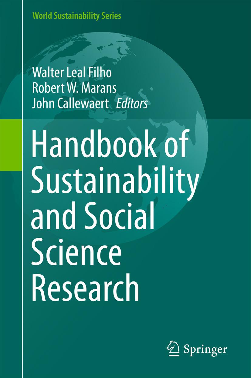 Callewaert, John - Handbook of Sustainability and Social Science Research, e-bok
