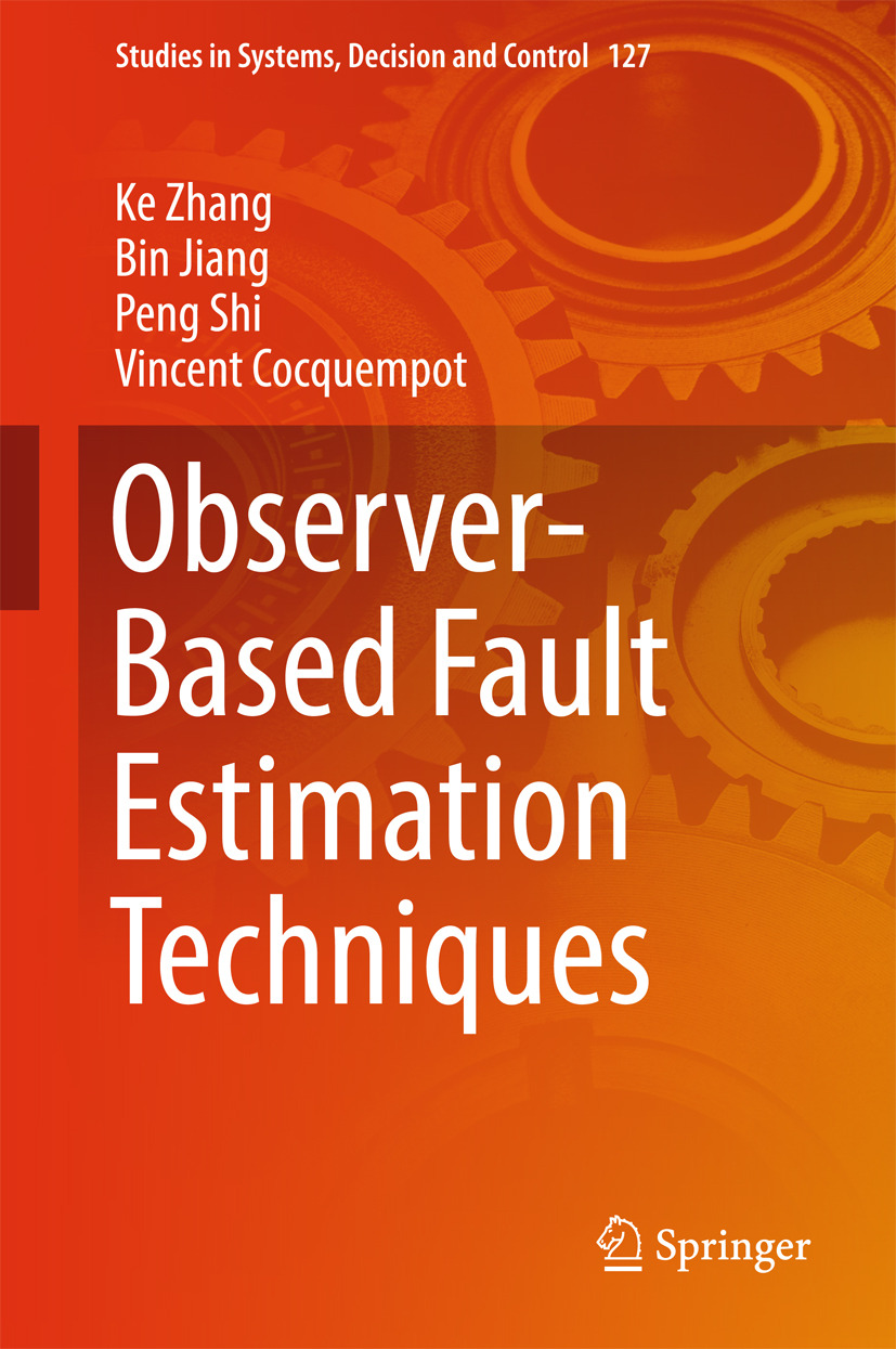 Cocquempot, Vincent - Observer-Based Fault Estimation Techniques, ebook