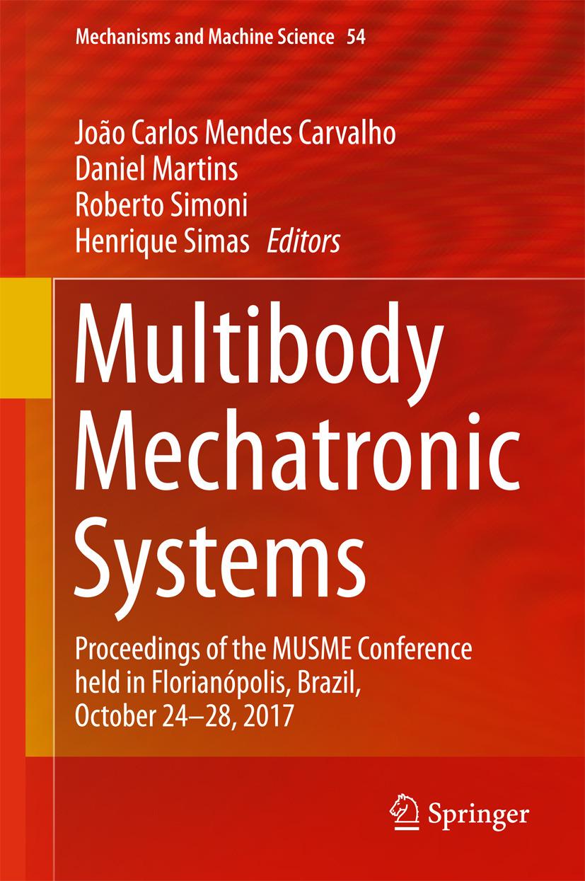 Carvalho, João Carlos Mendes - Multibody Mechatronic Systems, ebook