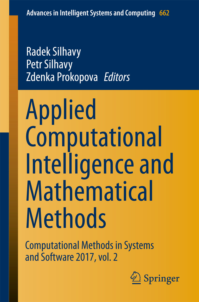 Prokopova, Zdenka - Applied Computational Intelligence and Mathematical Methods, ebook