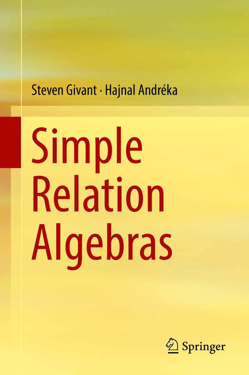 Andréka, Hajnal - Simple Relation Algebras, ebook