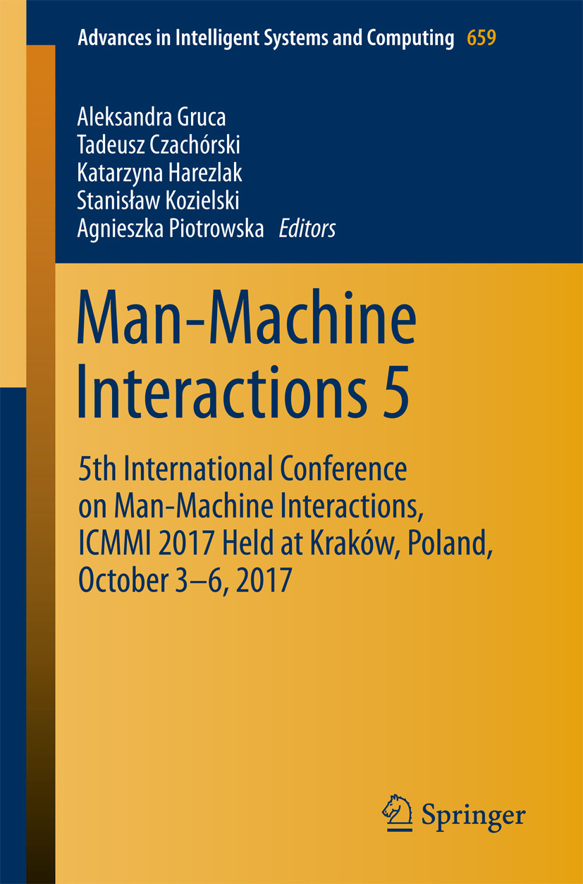 Czachórski, Tadeusz - Man-Machine Interactions 5, ebook