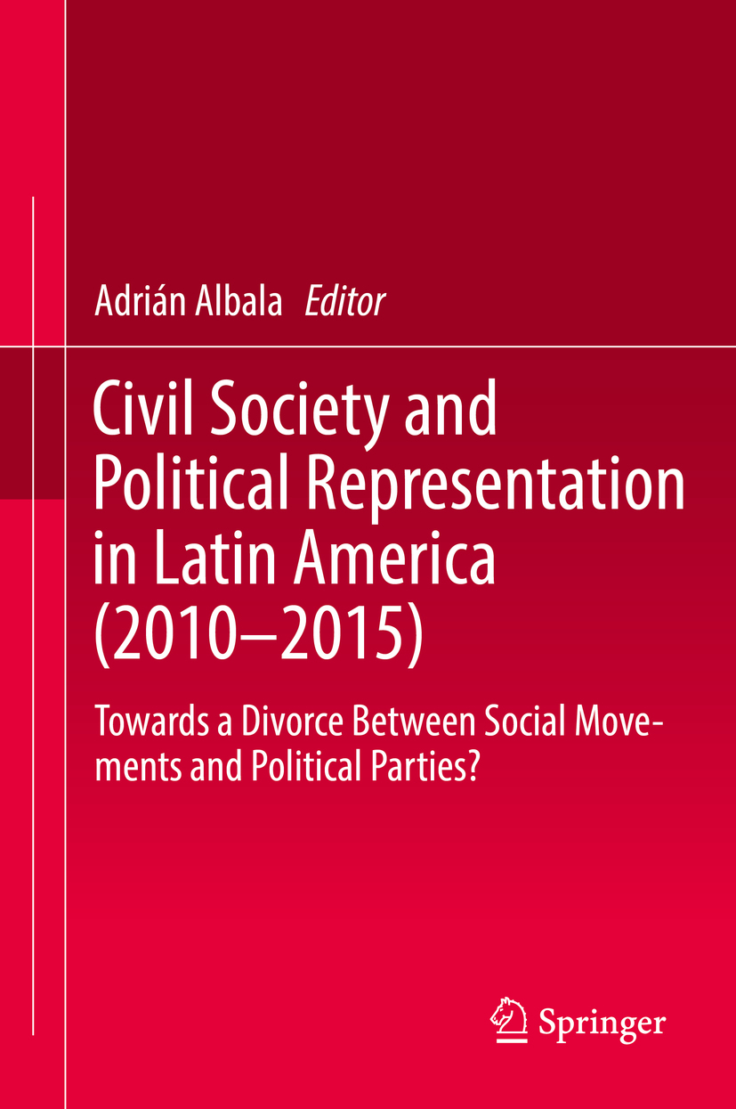 Albala, Adrián - Civil Society and Political Representation in Latin America (2010-2015), ebook