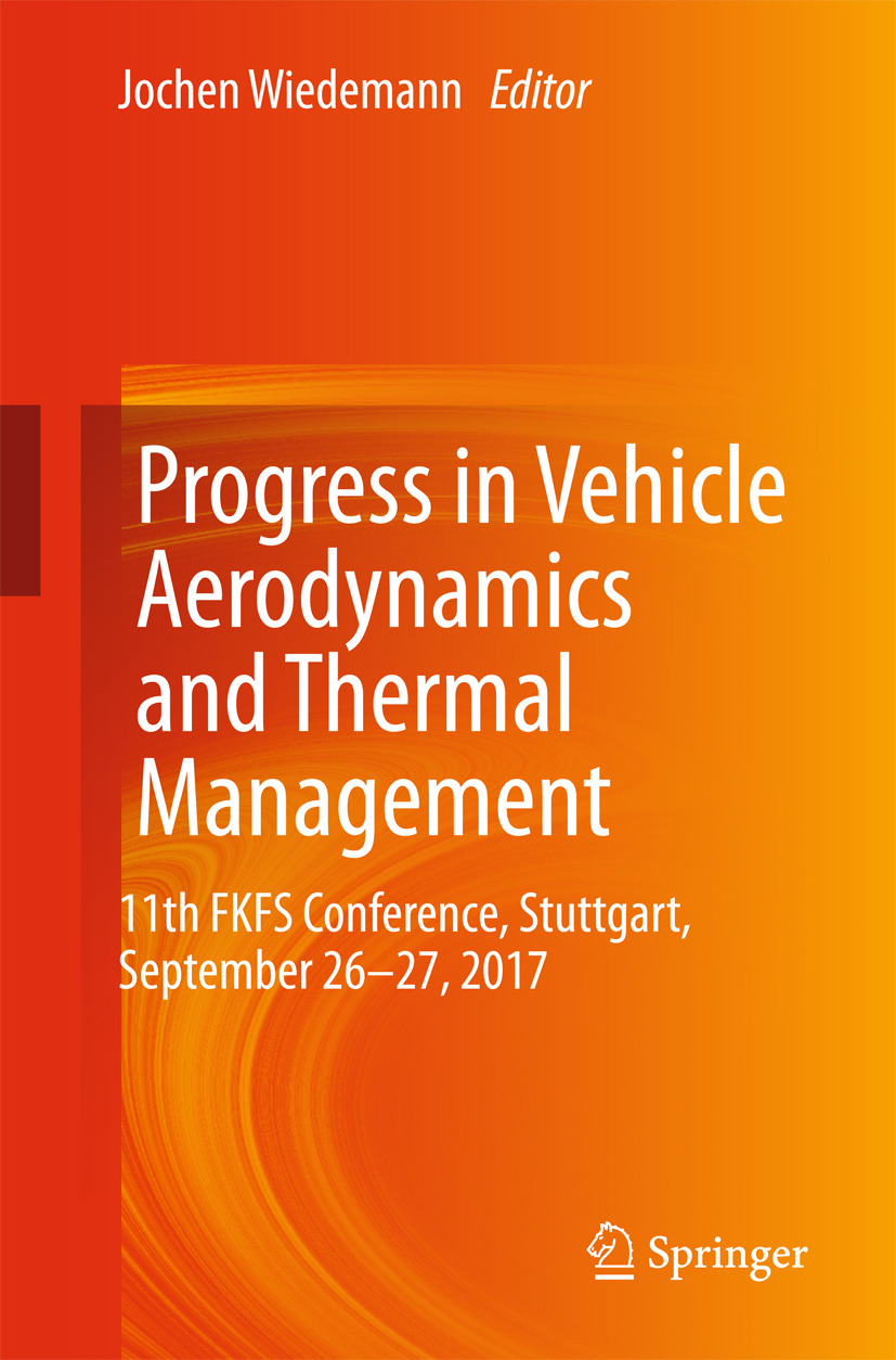 Wiedemann, Jochen - Progress in Vehicle Aerodynamics and Thermal Management, e-kirja