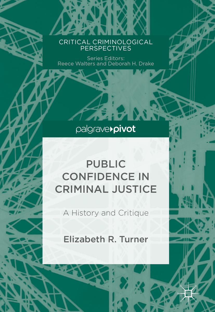 Turner, Elizabeth R. - Public Confidence in Criminal Justice, ebook