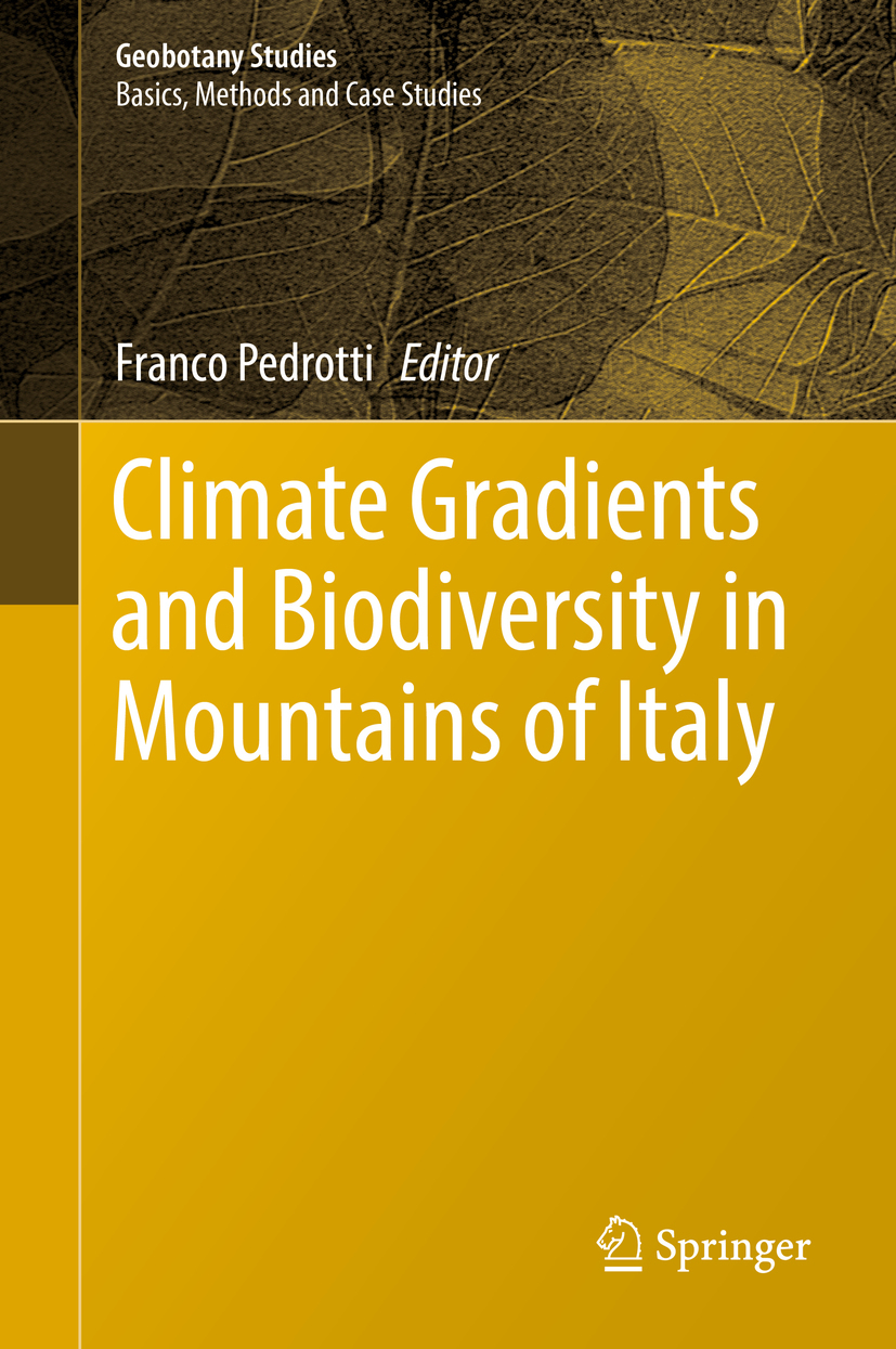 Pedrotti, Franco - Climate Gradients and Biodiversity in Mountains of Italy, ebook
