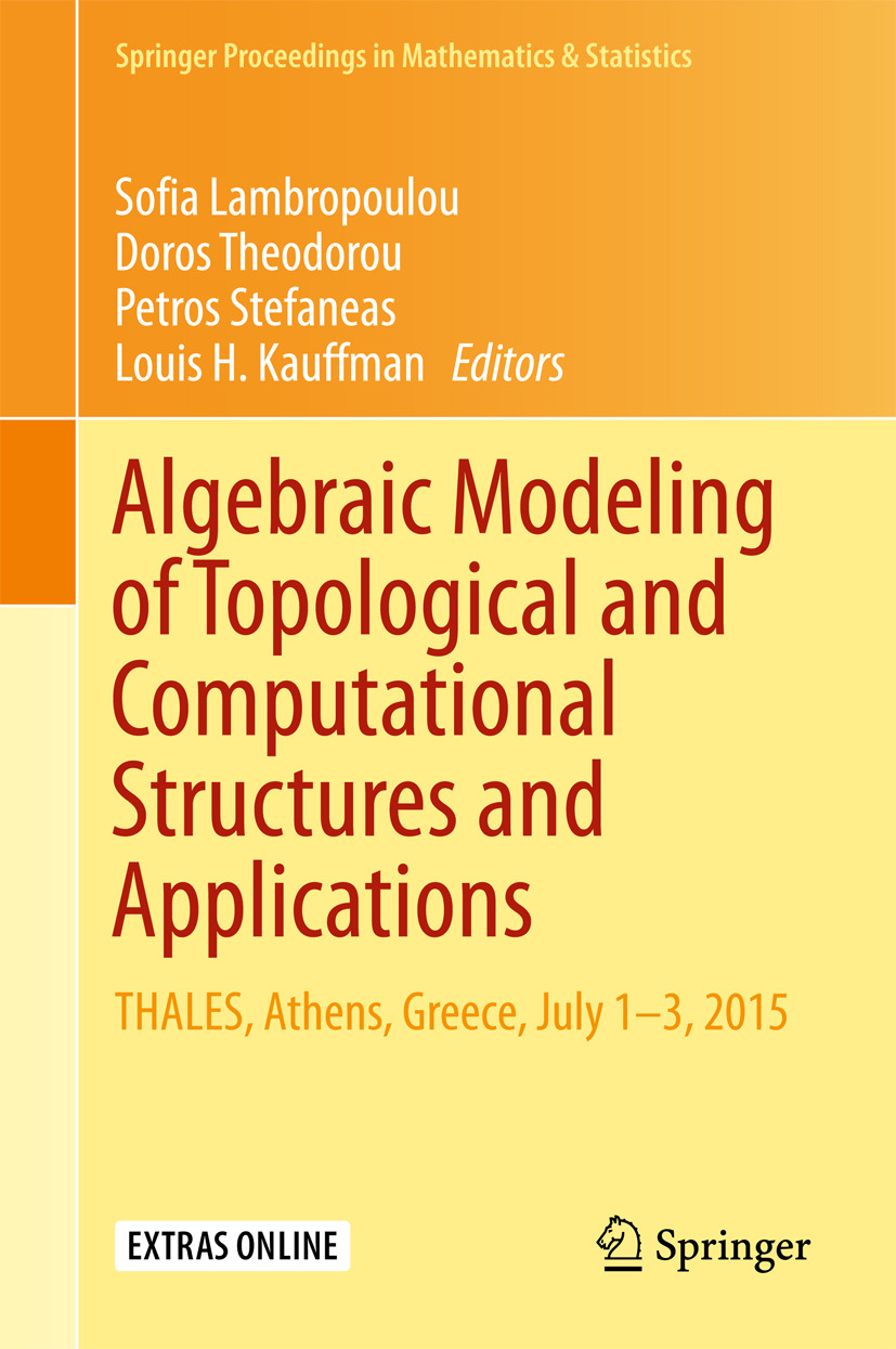 Kauffman, Louis H. - Algebraic Modeling of Topological and Computational Structures and Applications, ebook