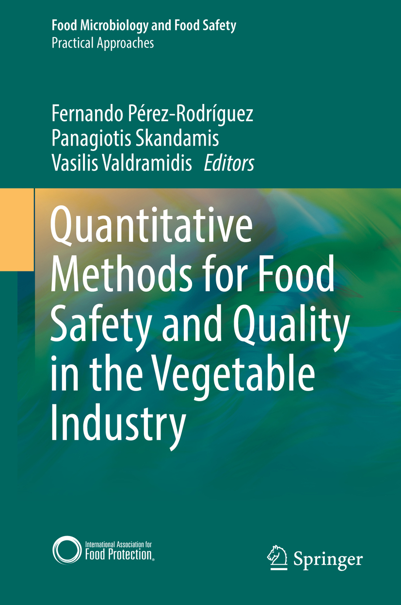 Pérez-Rodríguez, Fernando - Quantitative Methods for Food Safety and Quality in the Vegetable Industry, ebook
