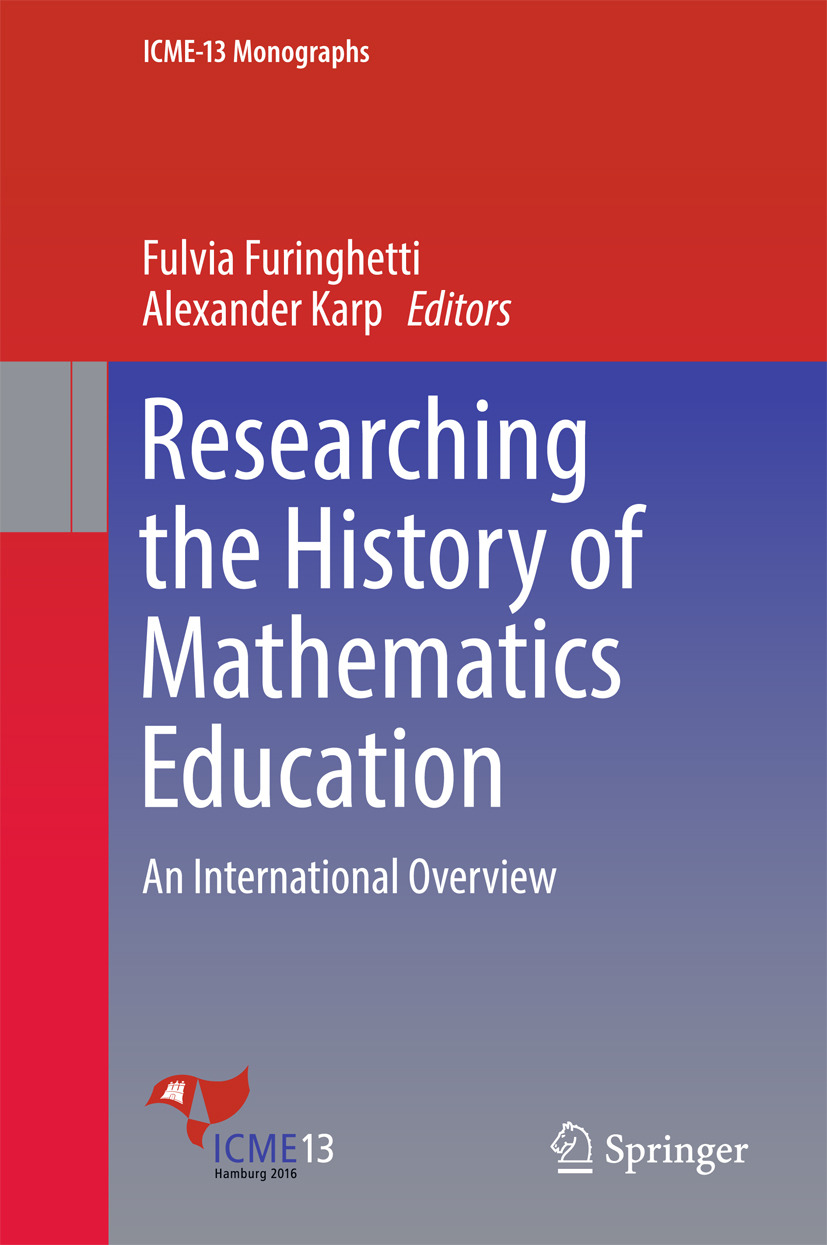 Furinghetti, Fulvia - Researching the History of Mathematics Education, ebook