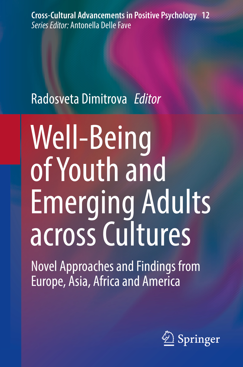 Dimitrova, Radosveta - Well-Being of Youth and Emerging Adults across Cultures, ebook