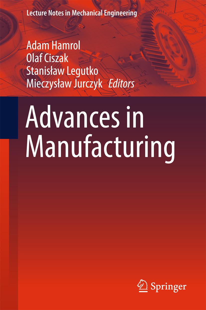 Ciszak, Olaf - Advances in Manufacturing, ebook