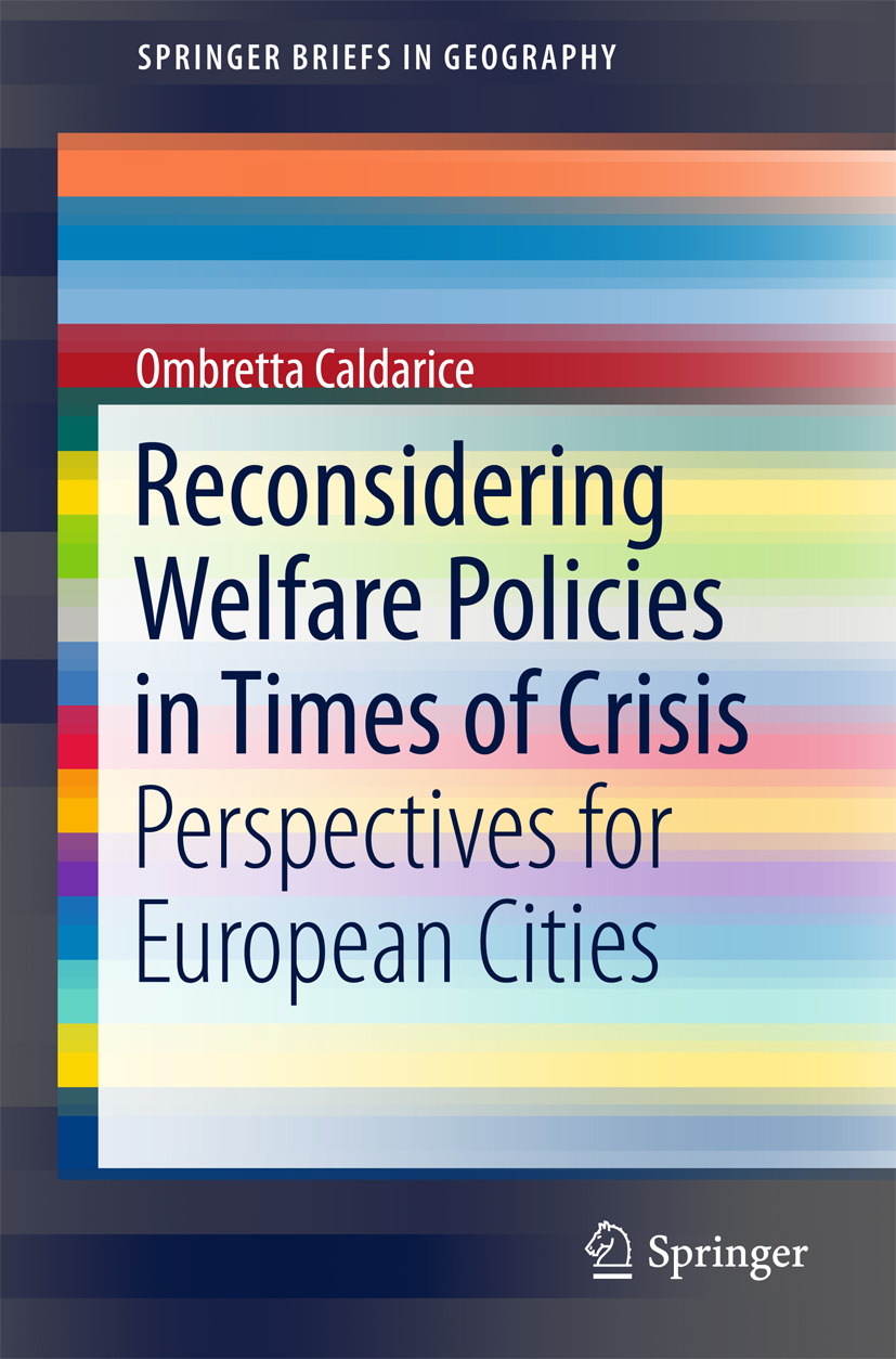 Caldarice, Ombretta - Reconsidering Welfare Policies in Times of Crisis, ebook