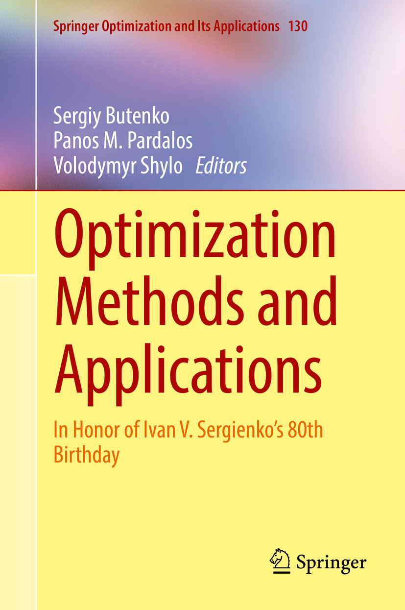 Butenko, Sergiy - Optimization Methods and Applications, ebook