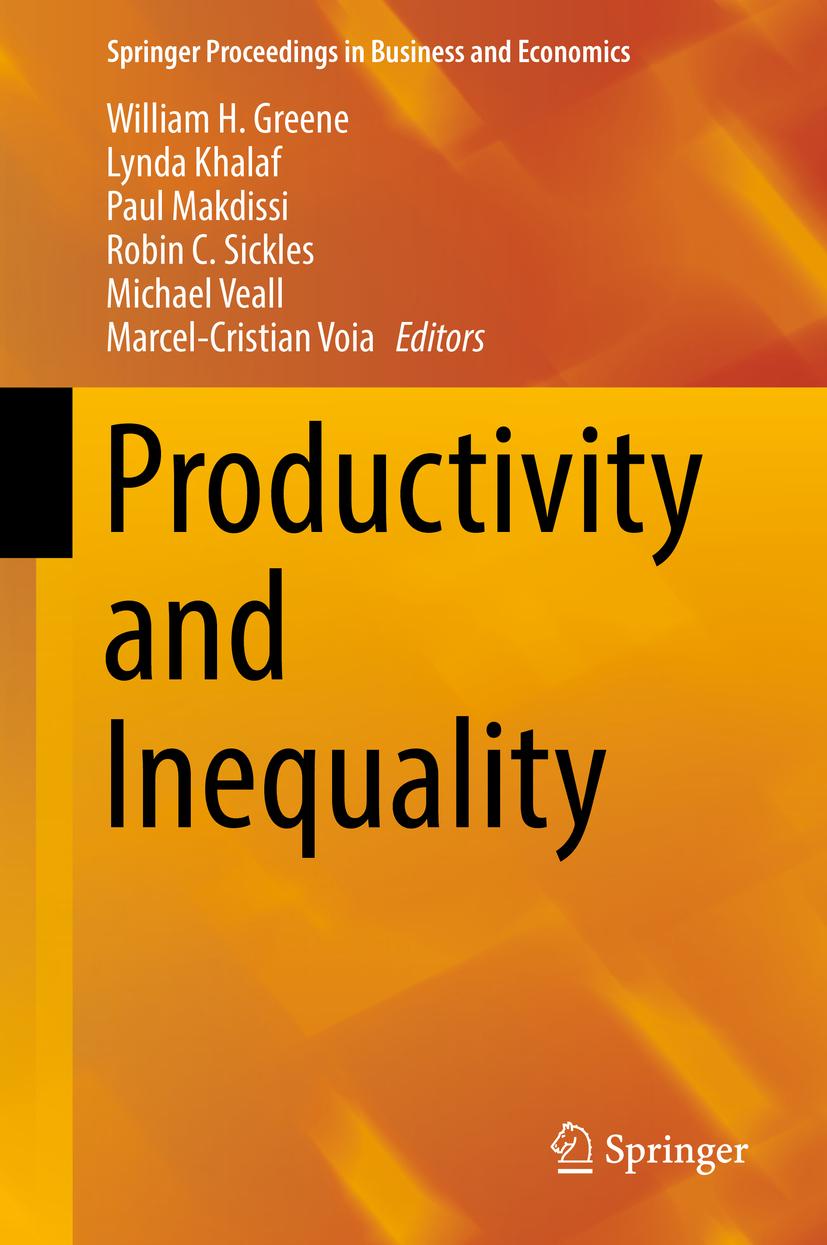 Greene, William H. - Productivity and Inequality, ebook
