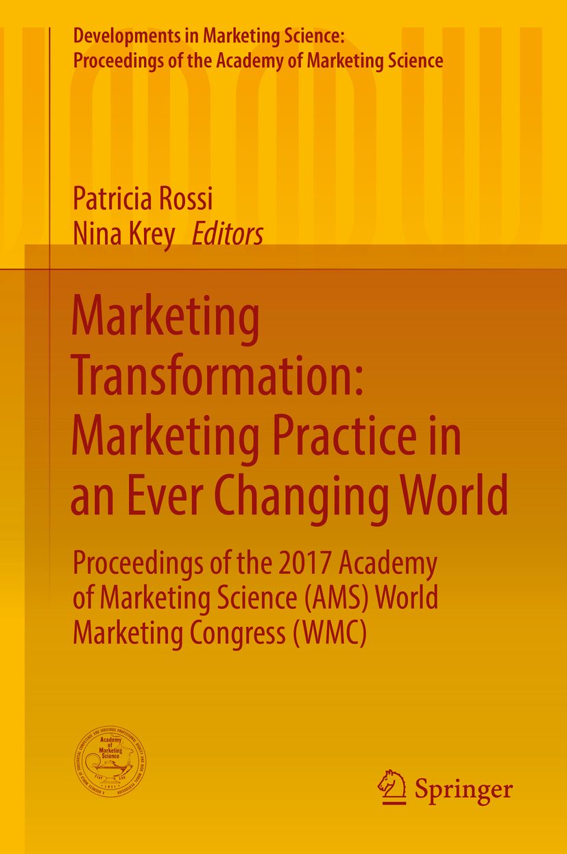 Krey, Nina - Marketing Transformation: Marketing Practice in an Ever Changing World, e-bok