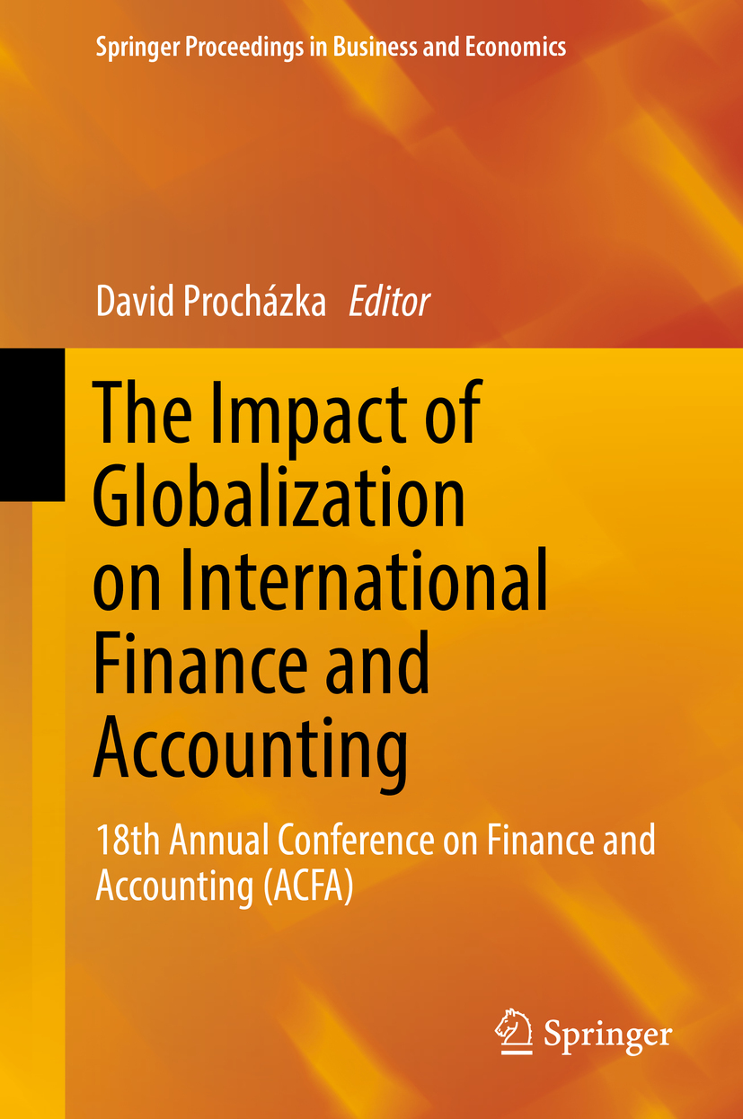 Procházka, David - The Impact of Globalization on International Finance and Accounting, e-kirja