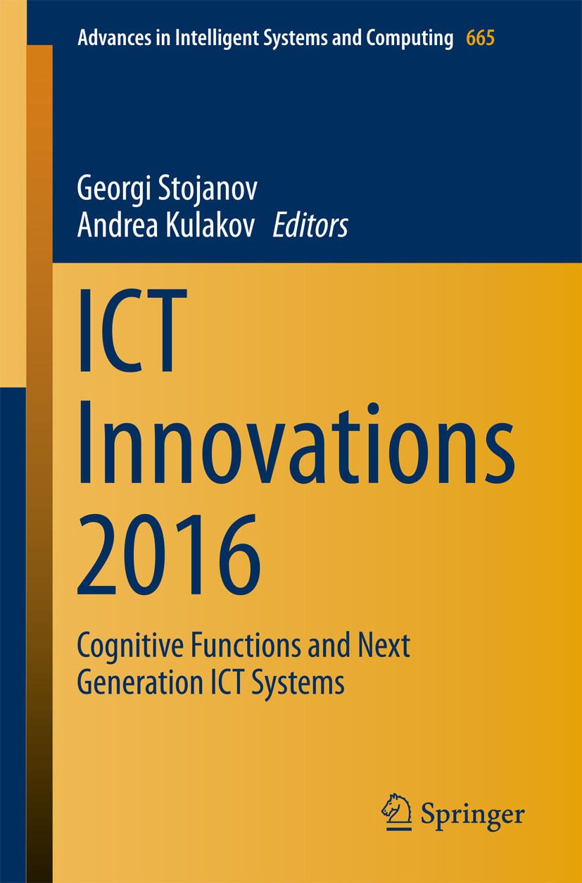 Kulakov, Andrea - ICT Innovations 2016, ebook