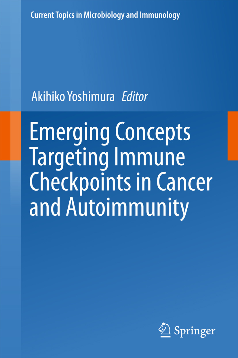 Yoshimura, Akihiko - Emerging Concepts Targeting Immune Checkpoints in Cancer and Autoimmunity, ebook
