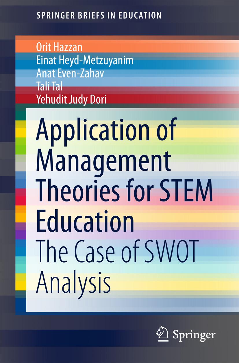Dori, Yehudit Judy - Application of Management Theories for STEM Education, ebook