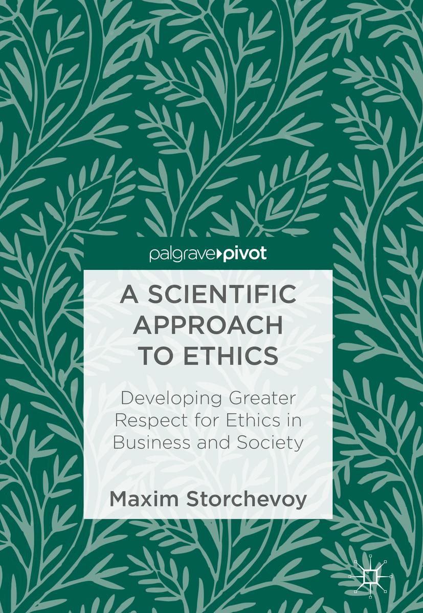 Storchevoy, Maxim - A Scientific Approach to Ethics, ebook