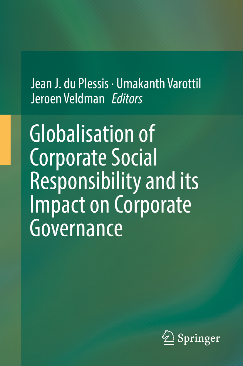 Plessis, Jean J. du - Globalisation of Corporate Social Responsibility and its Impact on Corporate Governance, ebook