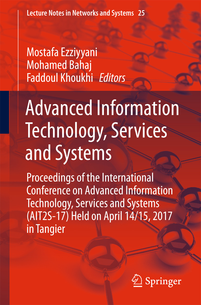 Bahaj, Mohamed - Advanced Information Technology, Services and Systems, ebook
