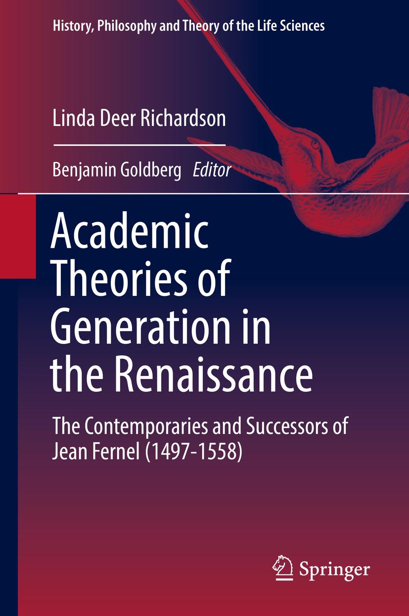 Goldberg, Benjamin - Academic Theories of Generation in the Renaissance, ebook