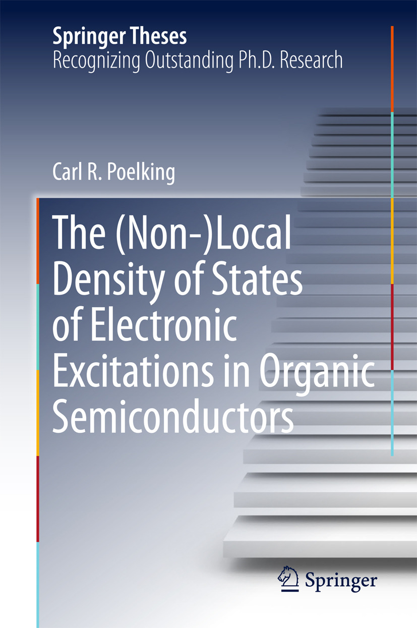 Poelking, Carl. R - The (Non-)Local Density of States of Electronic Excitations in Organic Semiconductors, ebook