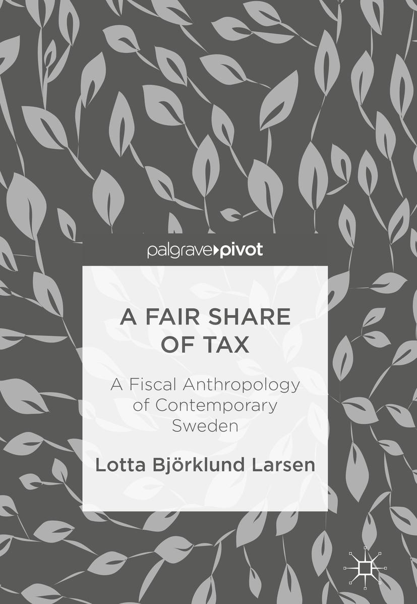 Larsen, Lotta Björklund - A Fair Share of Tax, e-kirja