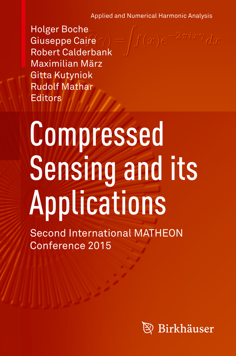 Boche, Holger - Compressed Sensing and its Applications, ebook