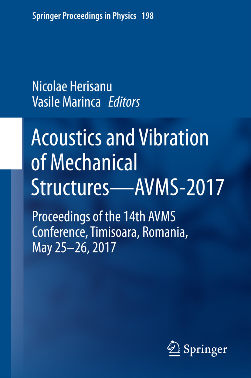Herisanu, Nicolae - Acoustics and Vibration of Mechanical Structures—AVMS-2017, ebook