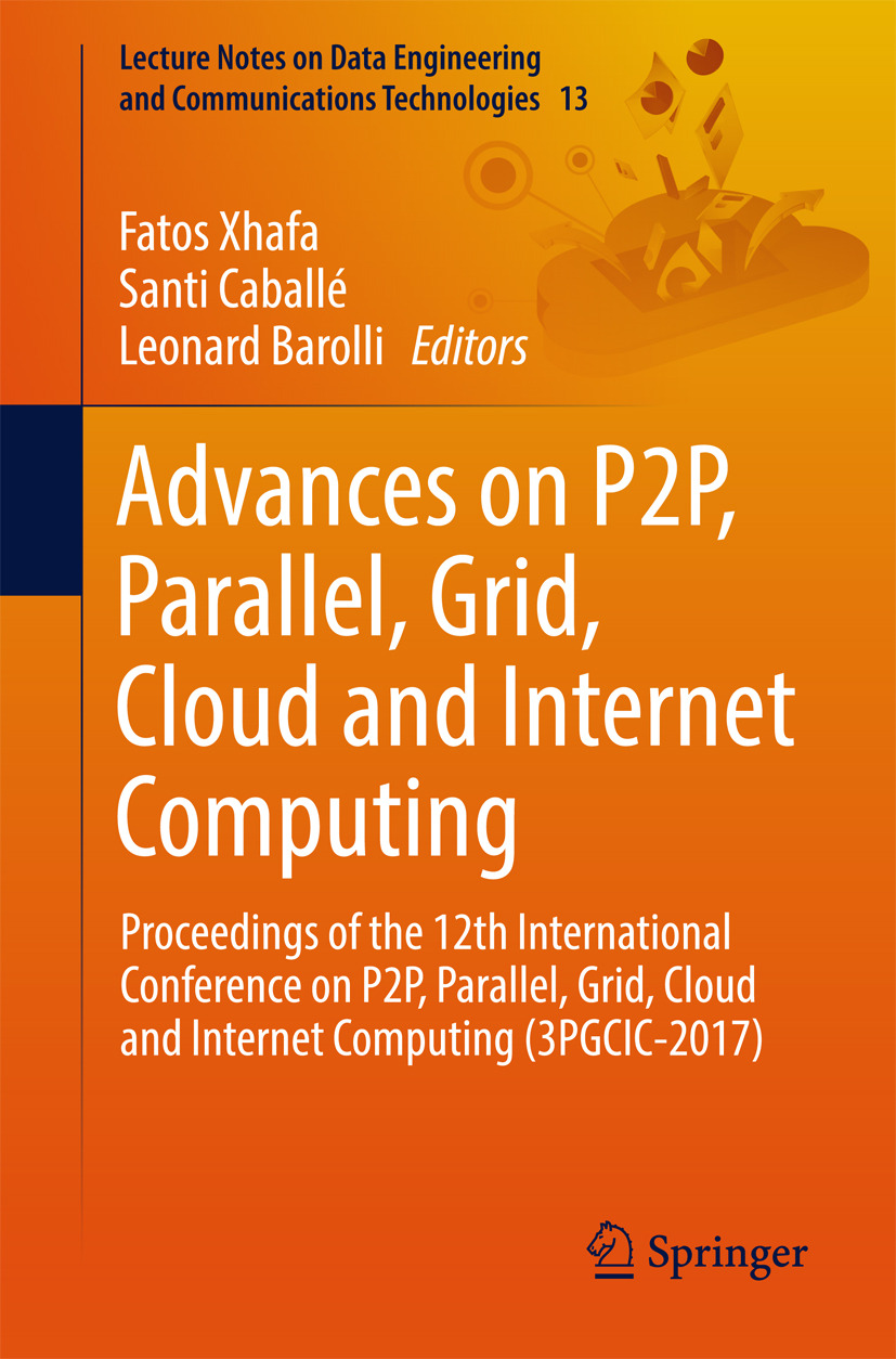 Barolli, Leonard - Advances on P2P, Parallel, Grid, Cloud and Internet Computing, ebook