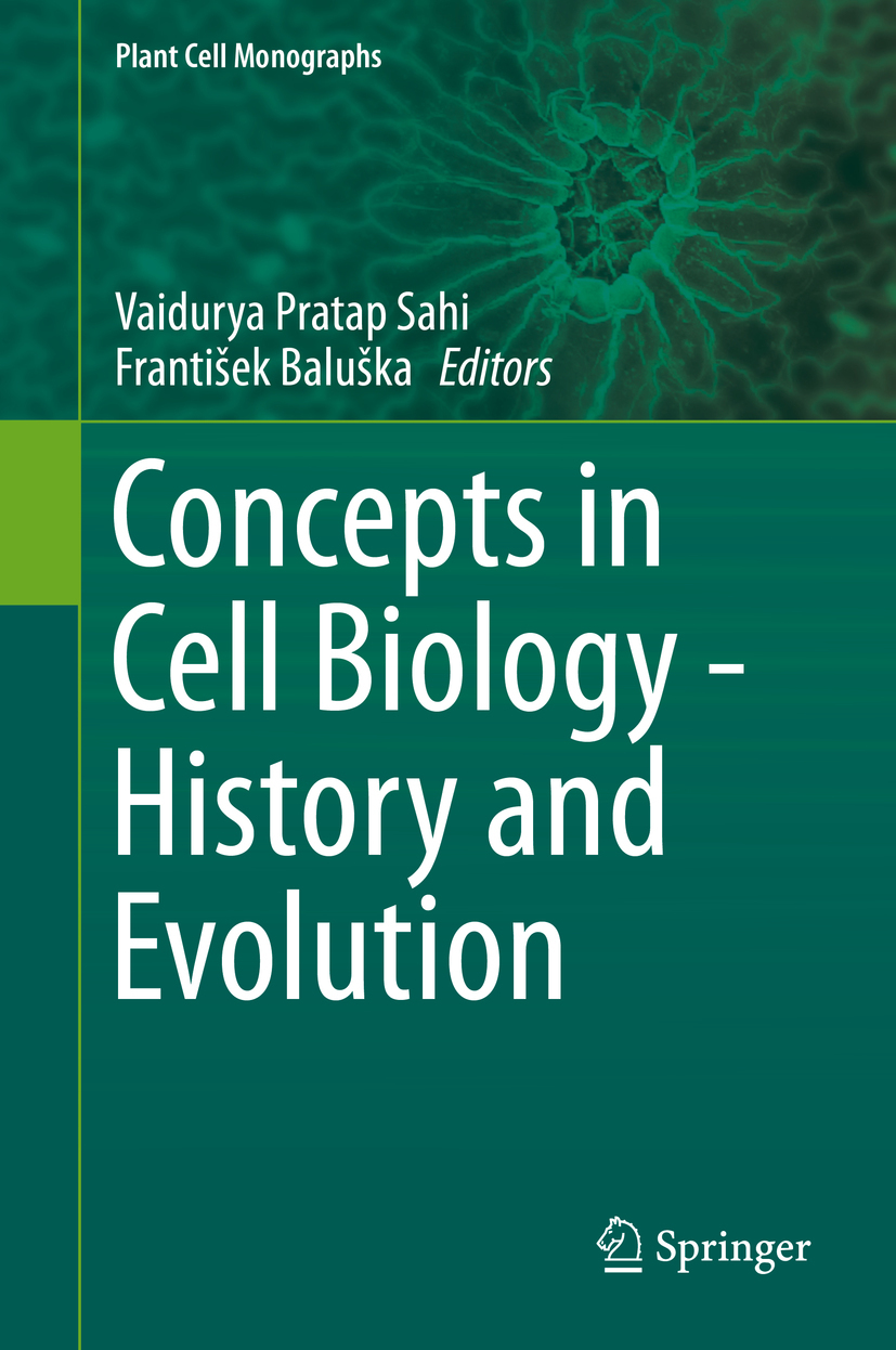Baluška, František - Concepts in Cell Biology - History and Evolution, ebook