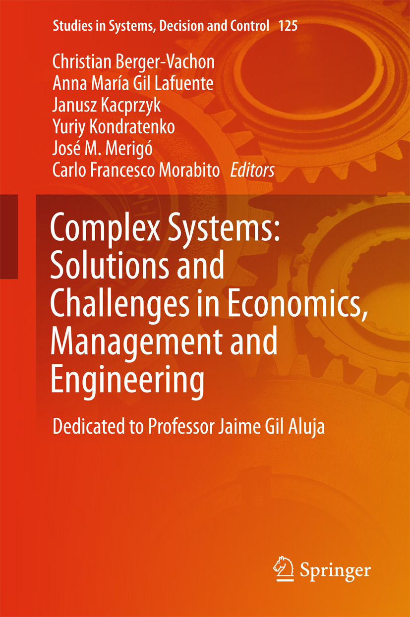 Berger-Vachon, Christian - Complex Systems: Solutions and Challenges in Economics, Management and Engineering, ebook